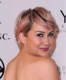 chelsea haircut back view celebrity chelsea kane side parted straight haircut