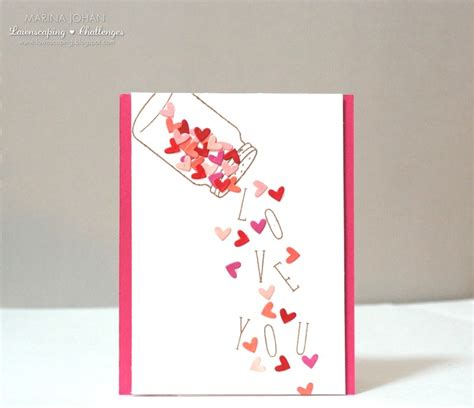 i valentines day cards 25 easy diy s day cards