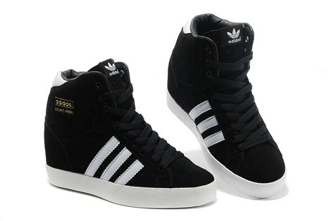black and white womens sneakers adidas originals increase high heeled shoes