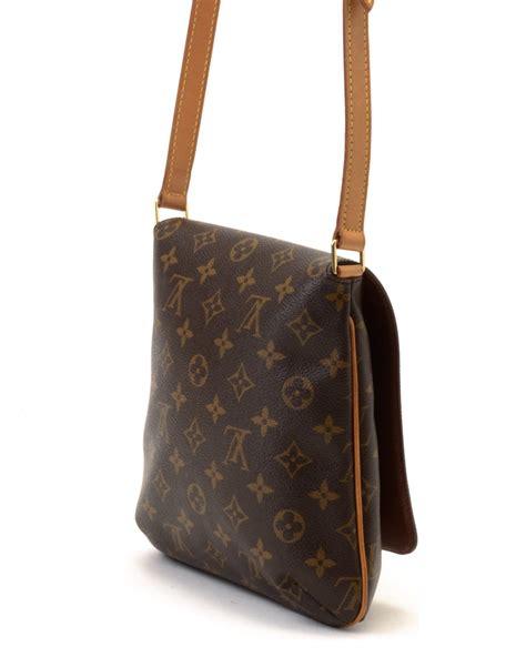 Lv Shoulder lyst louis vuitton shoulder bag vintage in brown