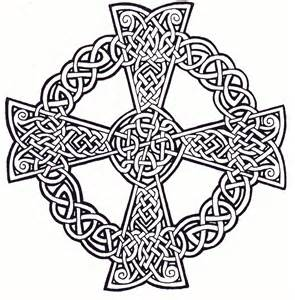 Celtic Cross Printable Coloring Pages Celtic Cross Coloring Pages