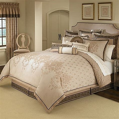 bed bath and beyond waterford waterford linens astor comforter set bed bath beyond