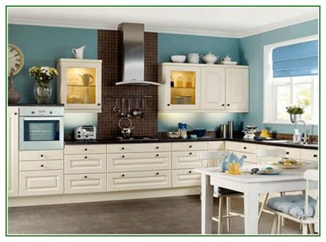 awesome white paint colors  kitchen cabinets  blue