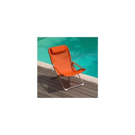 fauteuil relax pliant fauteuil relax pliant et r 233 glable terracotta lot de 2 plantes et jardins