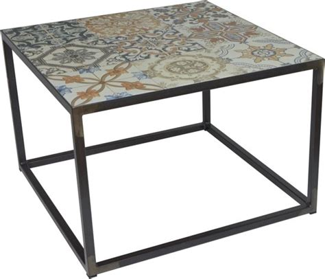 salontafel 40 x 40 bol spinder design ibiza salontafel blacksmith