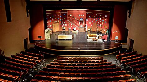 Center Stage Interiors by Mills Theater Smuhsd Theaters