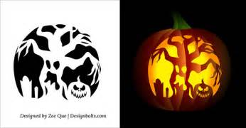 10 free printable scary pumpkin carving patterns stencils 10 free printable scary pumpkin carving patterns stencils