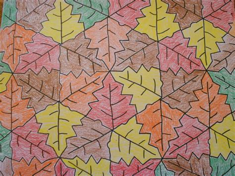 tessellation pattern games almost unschoolers fall leaf tessellation coloring sheet