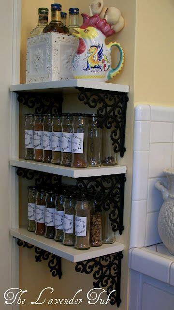 shelves hobby lobby diy spice rack shelf using brackets from hobby lobby for