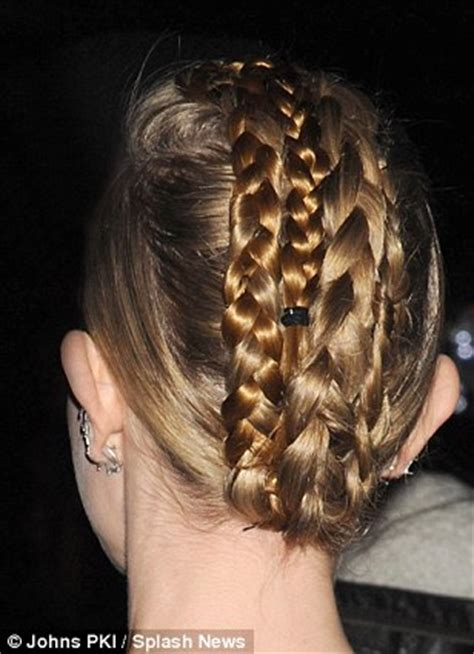 vertebral braid hair style plait s a good look kate bosworth shows off striking up