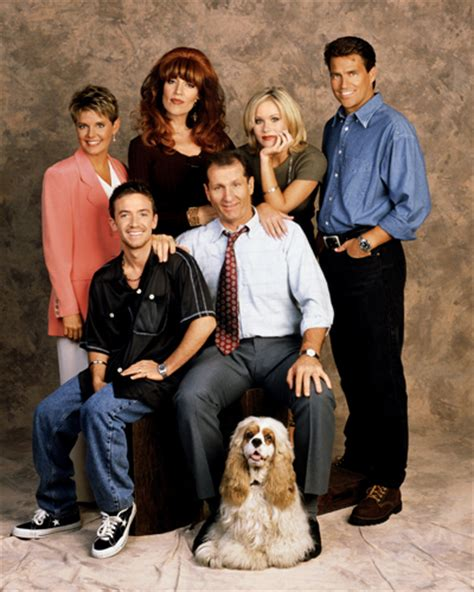 Married With Children Cast by Married With Children Cast Photo
