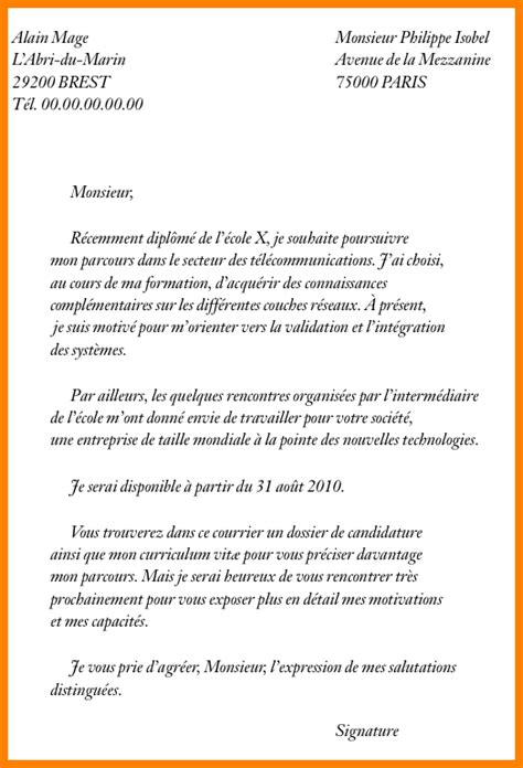 Lettre De Motivation école Alternance 9 lettre motivation 233 cole lettre officielle