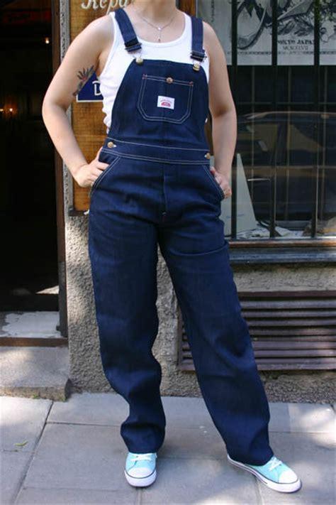 Round House Lot 9 Blue Denim Bib Overalls   Sivletto