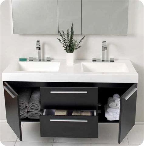 Modern Bathroom Floating Vanities by Floating Bathroom Vanity Ayanahouse