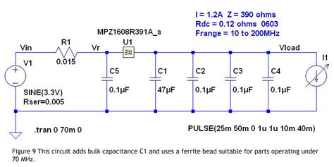 what are bulk capacitors power line filter simulations