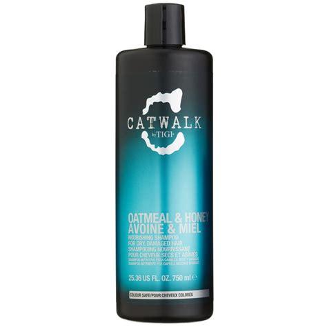 oatmeal treatment for hair tigi catwalk oatmeal honey shoo 750ml hair care b m
