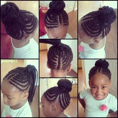 little kids hair braided into a bun cute kids braids into a bun hairstyle do that hair
