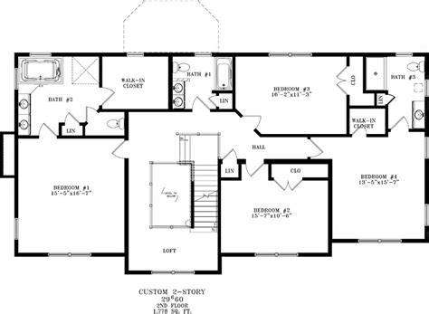 house floor plans with basement 22 unique blueprints for houses with basements house plans 86388