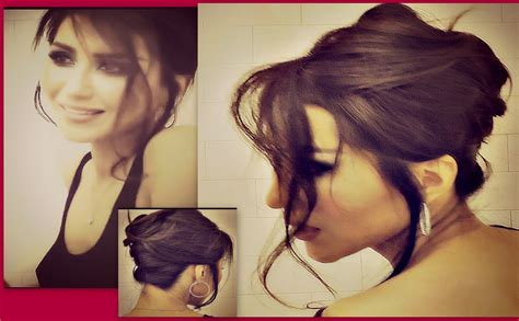 quick updos for long hair for dummies romantic updo how to french twist your own hair tutorial
