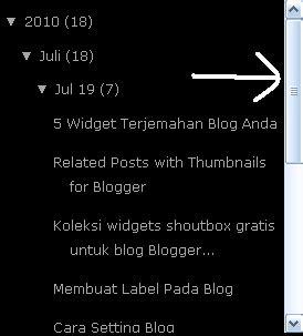 div style overflow membuat menu scroll di itupedia