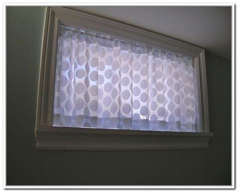 basement window curtain ideas 1000 ideas about basement window curtains on pinterest