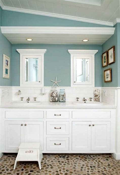 beach themed bathroom vanity