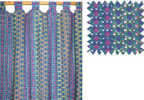fair trade curtains printed curtains 100 cotton chandni chowk fair trade