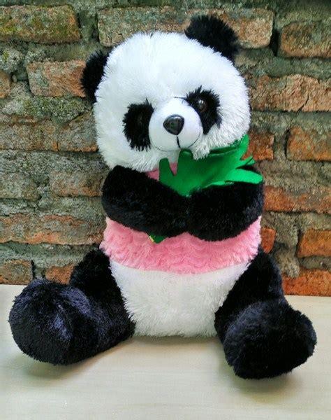 Topi Boneka Panda Karakter Ukuran Dewasa jual boneka panda cendrawasih harga murah dan berkualitas