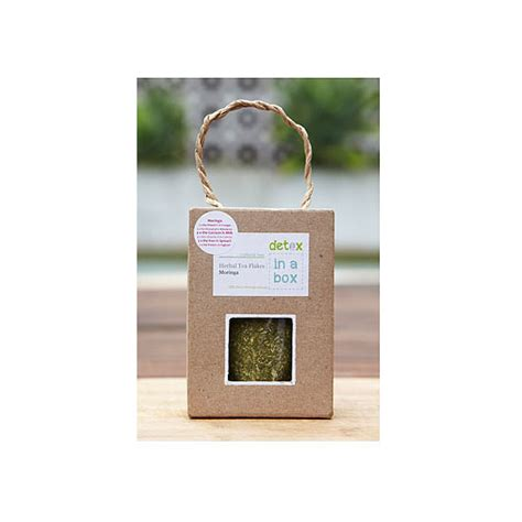 Detox In A Box by Detox In A Box Organic Moringa Plain Leaf Tea 19