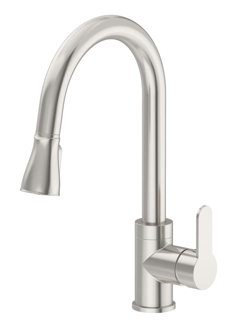 identity single handle pull kitchen faucet s 6710 pd