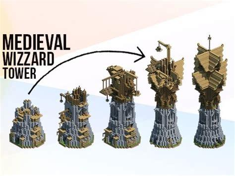 Custom House Blueprints minecraft huge medieval fantasy wizard tower youtube