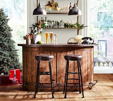 pottery barn red bar cabinet lawrence demilune bar cabinet pottery barn