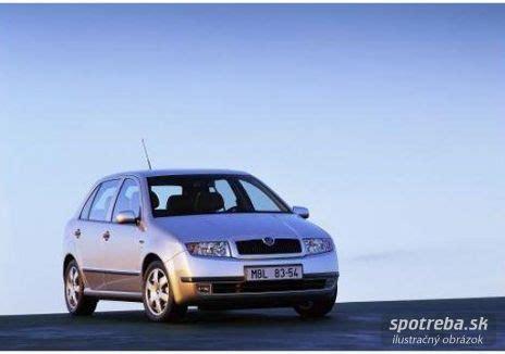 Škoda fabia 1.2 htp classic 40.00kw [2004] | spotreba.sk