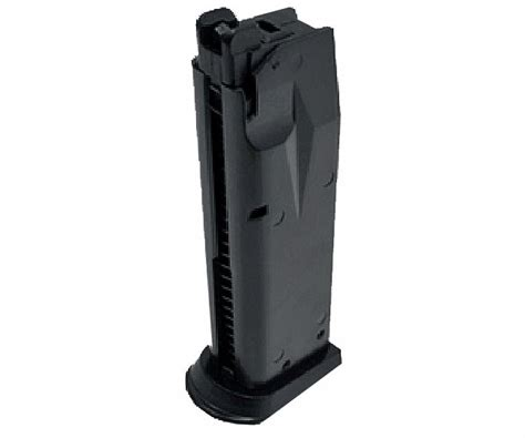 Magazin Kp02 Green Gas gbb 607 mag kjw kp 02 m229 25rd metal airsoft green gas pistol magazine