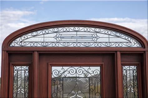 exterior door transom mahogany doors with elliptical transoms 6 8 quot