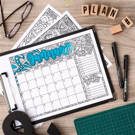 2018 coloring calendar monthly planner books 2018 coloring calendar clark coloring book
