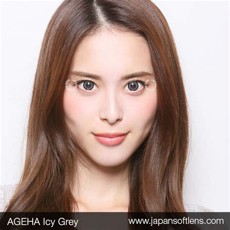Softlens Gel Ageha Soft Lens Gel Ageha Dia 15mm Water 55 Korea Terl softlens grey ageha icy grey japan softlens