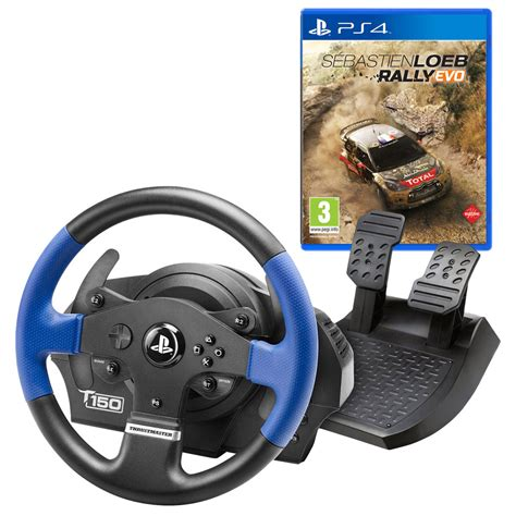 volante ps4 thrustmaster t150 feedback s 233 bastien loeb ps4