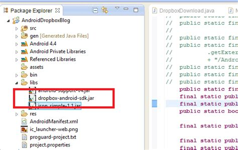 dropbox sdk 10 steps to integrate dropbox api in android