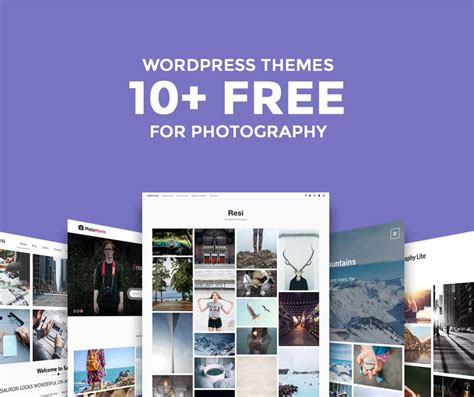 10 responsive free photography wordpress themes of 2017
