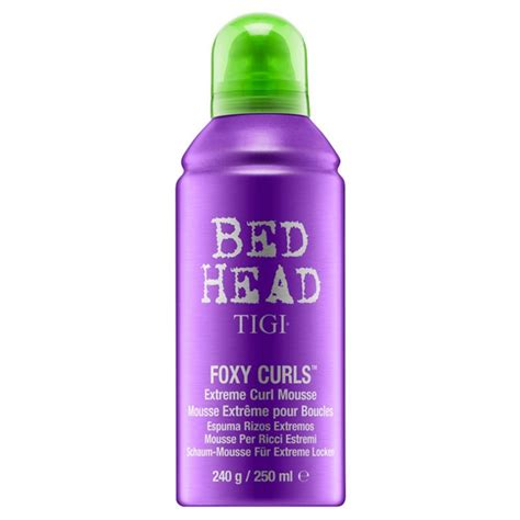 bed head foxy curls bed head foxy curls extreme curl mousse 250 ml tigi