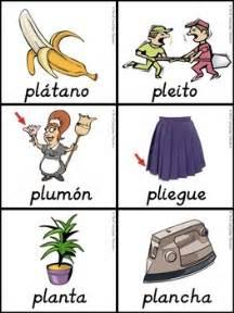 silabas trabadas pla ple pli plo plu by dual language