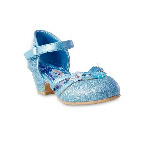 disney frozen toddler princess elsa blue dress shoe