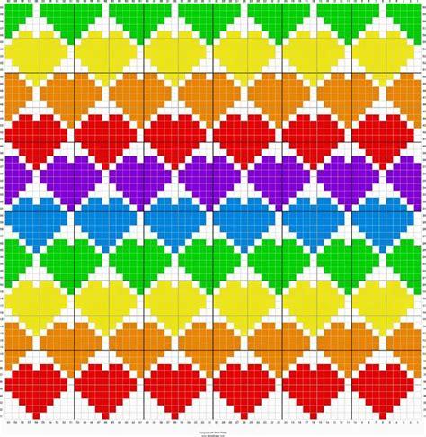 tetris pattern generator 520 best images about crochet graph c2c on pinterest