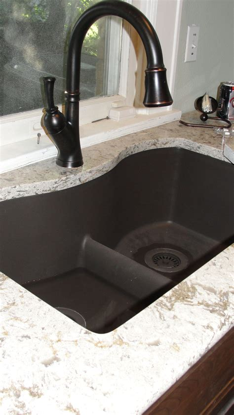 Blanco Black Granite Sink by I