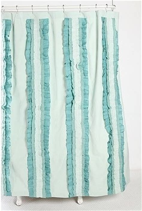 eclectic shower curtains stacked ruffle shower curtain eclectic shower curtains