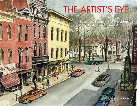 american towns the artist s eye blog 1950s small town america