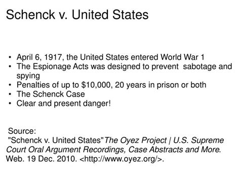Sykes V United States The Oyez Project At Iit Chicago | ppt bill of rights and supreme court cases powerpoint