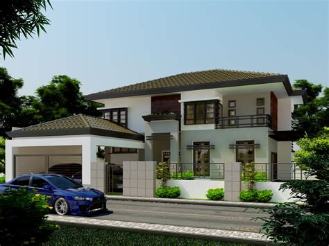 two house inspriational storey residential house home design