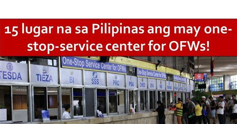 Home Design Center Freeport by Ofws Can Now Process Documents In These 15 One Stop